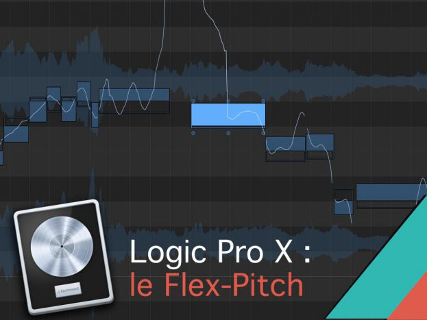 Le Flex Pitch dans Logic Pro X
