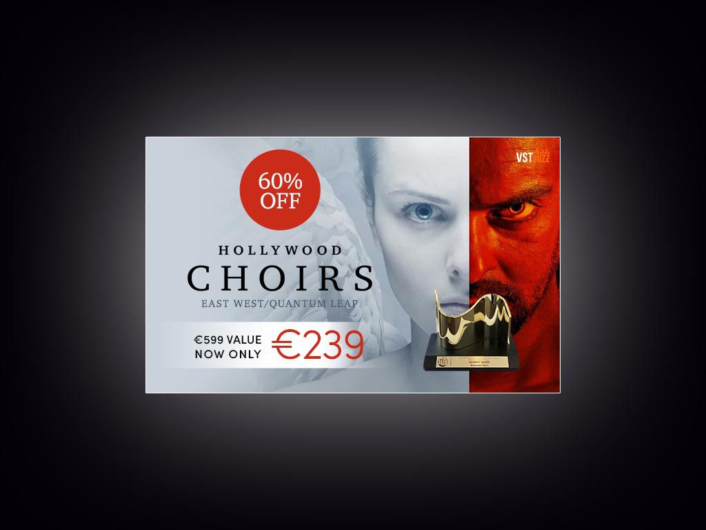 -60% sur Hollywood Choirs Gold Edition