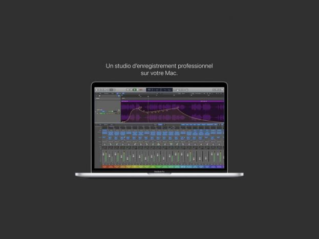 Apple met à jour Logic Pro X en v10.4.5