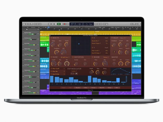 Logic Pro X passe en version 10.4.6