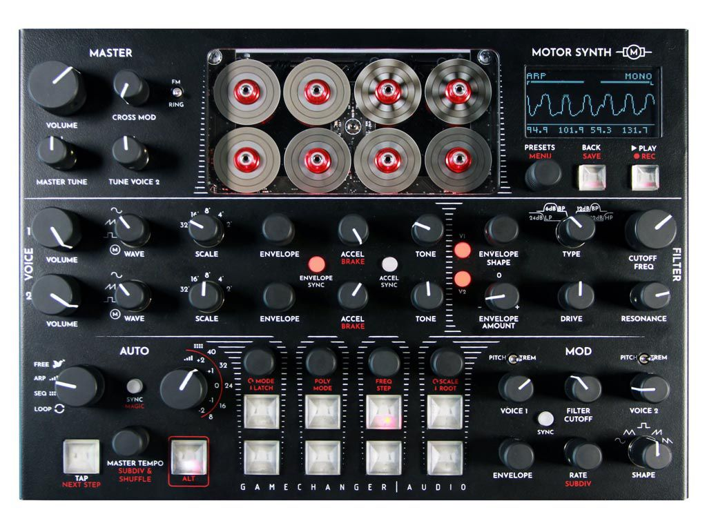 GameChanger Audio présente le Motor Synth