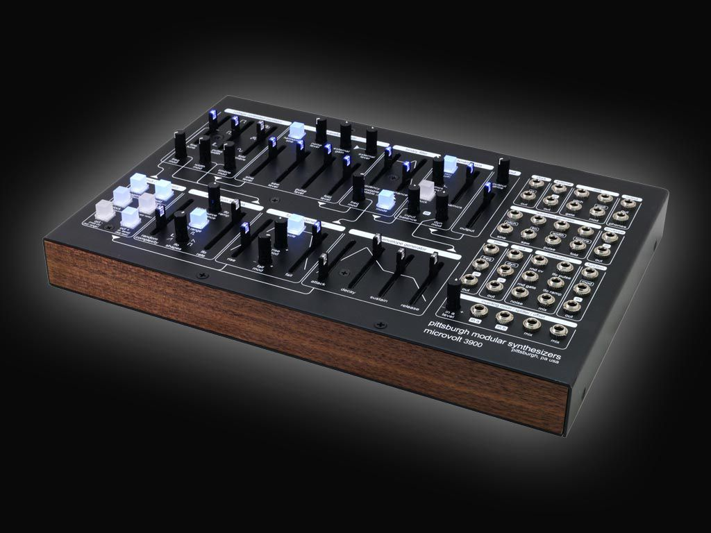 Pittsburgh Modular Synthesizers présente le Microvolt 3900
